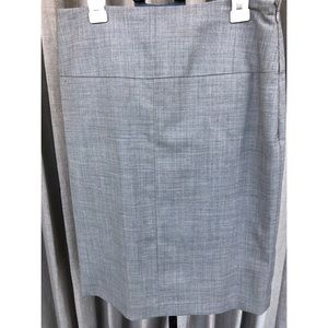 Flat Front Tailored Skirt
